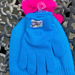 07badff2653 Shopkins Accessories - Shopkins Girls Star Beanie   Hat and Gloves Set